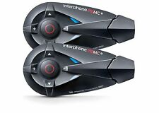 INTERPHONE F5MC TWIN PACK Helmet Bluetooth Communication Headset INF5MCT