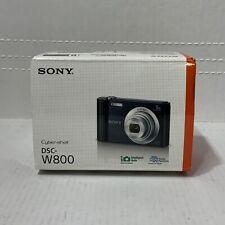 📀 Sony Cyber-shot DSC-W800 20.1MP  5x Optical Zoom - Black