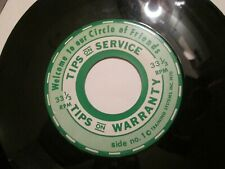"""1970 Ford Tire Promotional record """"Tips On Service And Warranty"""" 7"""" Vinyl 33 1/3"""