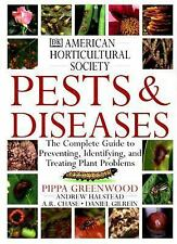 American Horticultural Society Pests and Diseases: The Complete Guide -ExLibrary