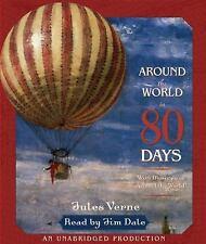 Around the World in 80 Days by Jules Verne (2005, CD, Unabridged) Audiobook