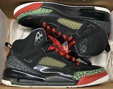 2007 Jordan Spizike OG Black Varsity Red Green White 315371-061 Sz 12