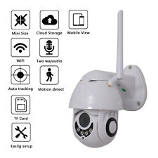 HD 1080P Wireless WiFi 5X ZOOM CCTV Outdoor IP Home Security Webcam Camera