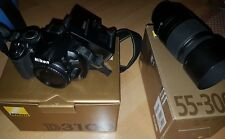 Nikon D3100 mit 55-300 Objektiv Kamera