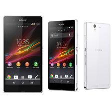 5.0- inch Sony Ericsson Xperia Z C6603 Unlocked Téléphones mobile -White 13.1MP