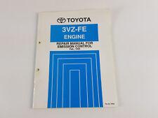 Toyota 3VZ-FE engine  Feb 1993 factory workshop manual for emission control