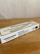 """Thiers Issard Straight Razor 5/8"""" Carbon Blond Horn Handle New In Open Box"""