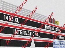 international 1455xl stickers / decals