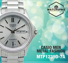 Casio Classic Series Men's Analog Watch MTP1239D-7A