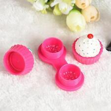 Beauty Cake Cream Cartoon Travel Contact Lens Case Box Set Container Holder