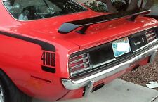 1970 Plymouth Cuda Go Wing Spoiler MoPar with Mounting Hardware