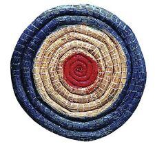 Strohzielscheibe, Durchmesser 65 cm, 6 cm dick Strohscheibe Bogenscheibe