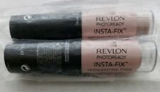 New 2x REVLON PHOTOREADY INSTA-FIX Highlighting Stick Pink Light #200 .31oz 8.9g