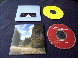 2xCDsingl Manic Street Preachers A Design For Life Everything Must Go Cardsleeve