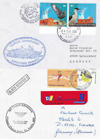 ARGENTINE ANTARCTIC CRUISE SHIP MS CLIPPER ADVENTURER 2 SHIPS CACHED COVERS