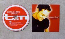 """CD AUDIO MUSIQUE / TIZIANO FERRO """"PERDONO"""" 2T CD SINGLE 2002 CARDSLEEVE"""