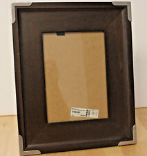 Ikea Ovraby Wooden 5 X 7 Picture Frame Designer Metal Corners