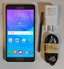 Black Samsung Galaxy Note 4 Sm-n910v Unlocked Verizon 32gb Android Smartphone