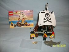 Lego Set 6261 Raft Raiders VINTAGE PIRATE 100% complete w/ instructions