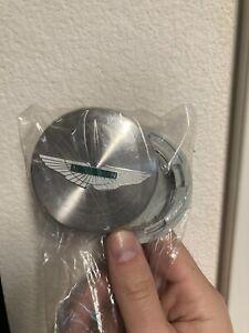 Aston Martin Wheel Center Cap Brushed Silver HY53-1A096-BA