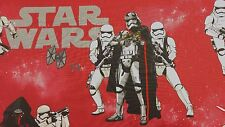 Disney Star Wars Storm Trooper Rojo Azul Algodón Cortina Tela Artesanal Niños