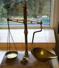 Brass Balance Beam Scales as per photo