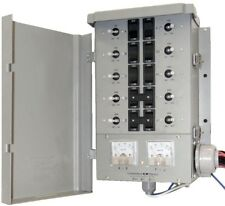 Portable Generator G2 Manual Transfer Switch Kit 30 Amp 8 Space 10 Circuits