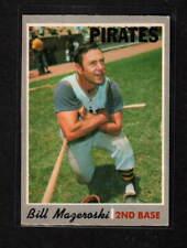 BILL MAZEROSKI 1970 O-PEE-CHEE PITTSBURGH PIRATES # 440