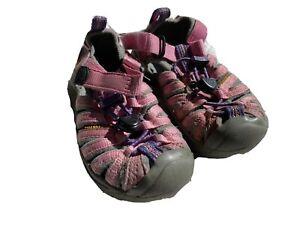KEEN Newport Sandals Water Hiking Shoes Toddler Kids Size US 8 Pink Girls