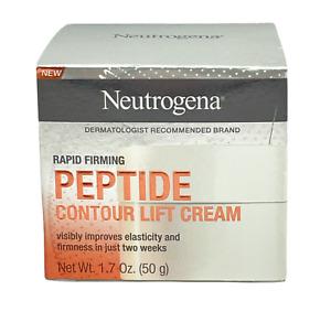 Neutrogena Rapid Firming Peptide Contour Lift Cream 1.7 oz - New - Free Shipping