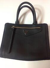 Guess Handbag Black Satchel Purse Tote w/ wallet
