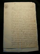 LOT OF TWO OLD DOCUMENTS  1832