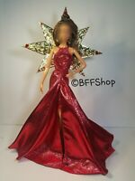 MATTEL RED METALLIC GOWN DRESS OUTFIT HOLIDAYS BARBIE MODEL MUSE FASHION CLOTHES
