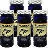 5 x Alaska Deep Sea Fish Oil Omega-3,6,9, EPA/DHA Flaxseed Oil, FRESH, FREE SHIP