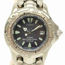Authentic Citizen Wrist Watch Ladies Air Divers Quartz Eco Drive 200m Titanium