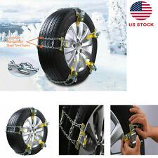 1pc Universal Antiskid Tire Snow Mud Chain fr Car SUV Traction Emergency Driving