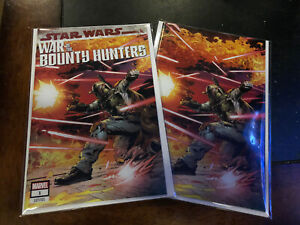 Star Wars: War of the Bounty Hunters #1 Carlo Pagulayan Virgin In hand Nm Ltd!