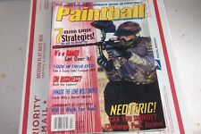 Paintball Magazine .  July  2002  AGD Galitic Z on Cover.