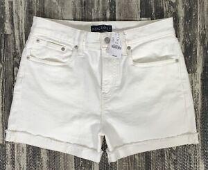 NWT J. Crew Women's Denim Short in White - Size 29