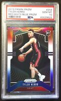 2019-20 Panini Prizm Tyler Herro Red White Blue #259 Miami Heat RC Rookie PSA 10