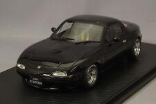1/18 IG ignition #IG0665 Mazda MX5 Eunos Roadster NA Black