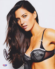 Olivia Munn SIGNED 8x10 Photo X-Men VERY SEXY LINGERIE PSA/DNA AUTOGRAPHED