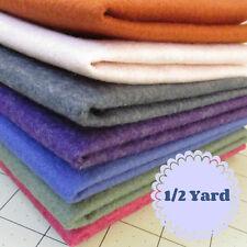 1/2 Yard Merino Wool blend Felt 35% Wool/65% Rayon - Cut to order