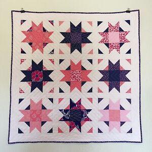 Handmade Baby Toddler Keepsake Hypoallergenic Quilt Blanket New