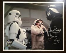 Dave Prowse Star Wars Signed Official Pix Photo.