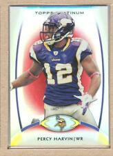 Percy Harvin 39 2012 Topps Platinum Red