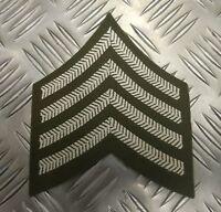 Genuine British Army Drum Major Rank No2 Dress Chevrons / Badge / Patch - NEW