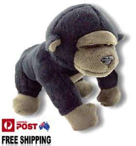 1 X PLUSH GORILLA 17CM teddy monkey kids gift soft toy stuffed animal christmas