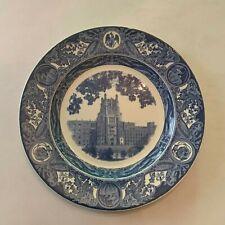 Vintage Wedgwood Of Etruria University Of Iowa General Hospital Plate 2nd Ed.