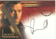 The Scorpion King Autograph Card A5 Stephen Brand